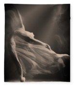 Dance Of The Ghost Fleece Blanket