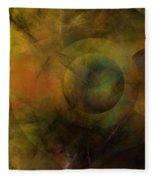 Dance Of The Spheres  Fleece Blanket