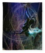 Dance Of The Universe Fleece Blanket