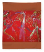 Dance Step Fleece Blanket