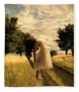 Dance Until Dawn Fleece Blanket
