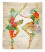Dance With Me Fleece Blanket