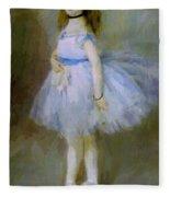 Dancer 1874 Fleece Blanket