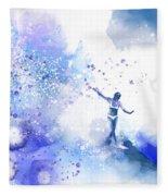 Dancer On Water 1 Fleece Blanket