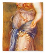 Dancer With Castanettes 1909 Fleece Blanket