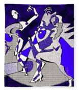 Dancers Dancing Fleece Blanket
