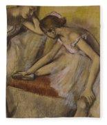 Dancers In Repose Fleece Blanket
