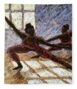 Dancers Near A Window Fleece Blanket