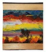 Dancing Colors     102 Fleece Blanket