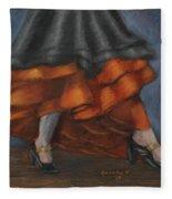 Dancing Feet Fleece Blanket