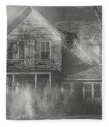 Dancing Ghosts Fleece Blanket