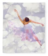 Dancing In The Clouds Fleece Blanket