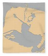 Dancing In The Moon Light Fleece Blanket