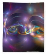 Dancing Light Fleece Blanket