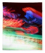 Dancing Neon Fleece Blanket