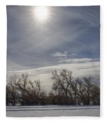Dancing Trees Fleece Blanket