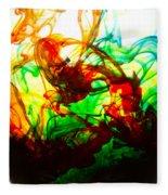 Dancing Water Colors Fleece Blanket