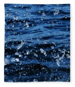 Dancing Water Fleece Blanket