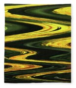 Dandelion Abstract Fleece Blanket