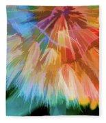 Dandelion Circus Fleece Blanket
