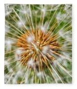 Dandelion Explosion Fleece Blanket