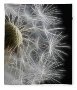 Dandelion Frost Fleece Blanket