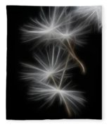 Dandelion Glow Fleece Blanket