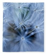 Dandelion Macro Fleece Blanket