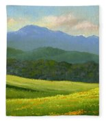 Dandelion Meadows Fleece Blanket