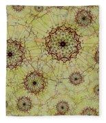 Dandelion Nosegay Fleece Blanket