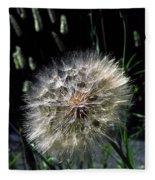 Dandelion Seedball Fleece Blanket