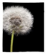 Dandelion Seedhead Fleece Blanket