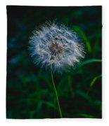 Dandelion Seeds 2 Fleece Blanket