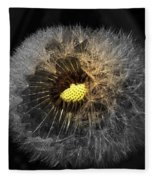 Dandelion Spotlight Fleece Blanket