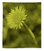 Dandelion Tint Fleece Blanket
