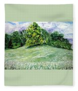 Dandelions Fleece Blanket
