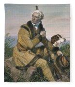 Daniel Boone (1734-1820) Fleece Blanket