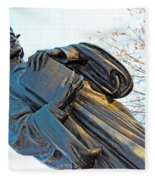 Dante In Meridian Hill Park Fleece Blanket