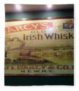 D'arcy's Old Irish Whiskey Fleece Blanket