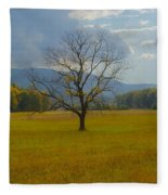 Dare To Stand Alone Fleece Blanket