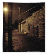 Dark Alley Fleece Blanket