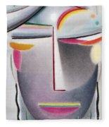 Dark Buddha Fleece Blanket