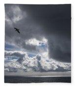 Dark Cloud Fleece Blanket