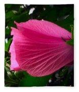 Dark Pink Beauty Fleece Blanket