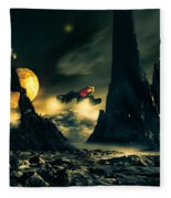 Dark Planet Fleece Blanket