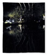 Dark Reflections Fleece Blanket