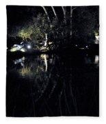 Dark Reflections Fleece Blanket