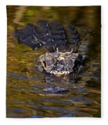 Dark Water Predator Fleece Blanket