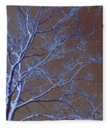 Dark Woods Fleece Blanket