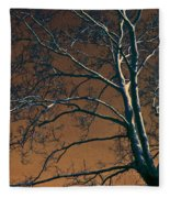 Dark Woods II Fleece Blanket